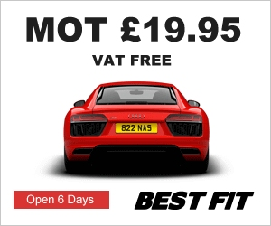 MOT in Glasgow for all vehicles only �.95 at Best Fit - MOT VAT Free