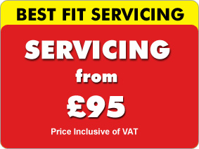 Vehicle servicing in Glasgow from only £59 at Best Fit