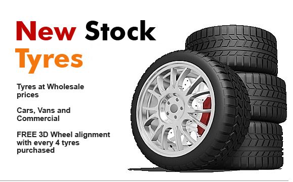 New Stock Tyres in Glasgow at Best Fit - For all Cars, vans, and light commercial vehicles