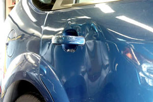Car body repair in Glasgow at Best Fit - Car Body Dent